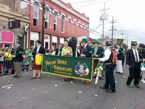 Sr. Vera marching with AOH