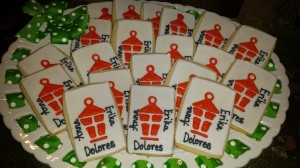 Lantern Light Logo cookies for our girls!