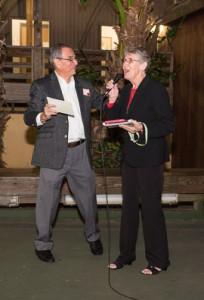 Sr. Vera Butler addresses the guests