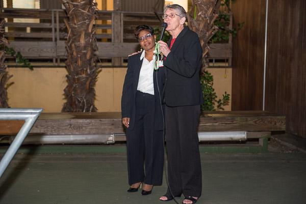 Sr. Vera Butler introduces new executive director Kenitha Grooms Williams