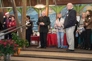 Volunteers were recognized for their contribution to the organization